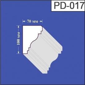 Підвіконня з пінополістиролу Валькірія 70х100 мм (PD 017)