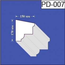Подоконник из пенополистирола Валькирия 150х170 мм (PD 007)