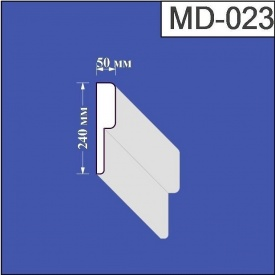 Молдинг из пенополистирола Валькирия 50х240 мм (MD 023)