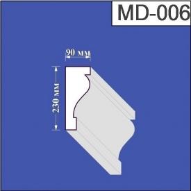 Молдинг из пенополистирола Валькирия 90х230 мм (MD 006)