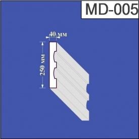 Молдинг из пенополистирола Валькирия 40х250 мм (MD 005)