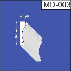 Молдинг из пенополистирола Валькирия 40х165 мм (MD 003)