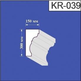 Карниз из пенополистирола Валькирия 150х300 мм (KR 039)