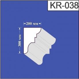 Карниз из пенополистирола Валькирия 200х300 мм (KR 038)