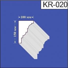 Карниз из пенополистирола Валькирия 100х150 мм (KR 020)