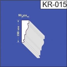 Карниз из пенополистирола Валькирия 80х180 мм (KR 015)