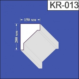 Карниз из пенополистирола Валькирия 150х200 мм (KR 013)