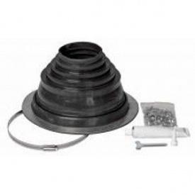 Уплотнитель комплект VILPE ROOFSEAL-6/9 260 мм черный