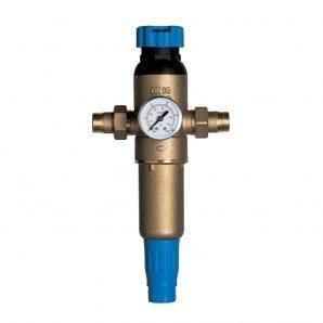 Промывной фильтр с регулятором давления Ecosoft F-M-S3/4HW-R