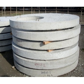 Бетонная плита перекрытия на колодец ПП10-2 1160х150 мм