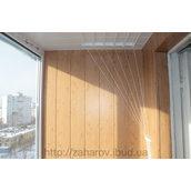 Встановлення сушки для балкона