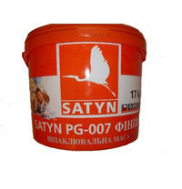 Шпаклевочная масса финиш SATYN РG-007 17 кг белая