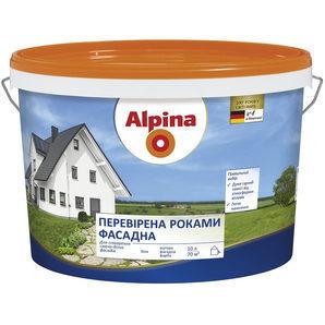 Фасадная краска Alpina надежная 10 л