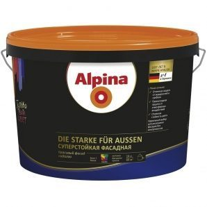 Фасадна фарба Alpina суперстійка 10 л