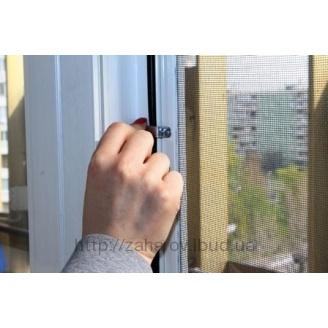 Москитная сетка на окна белая