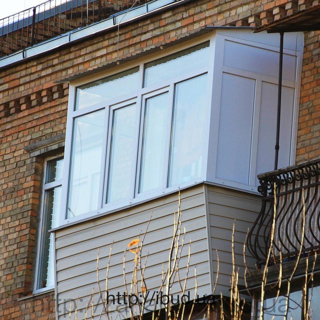 Ремонт балкона в сталинке.