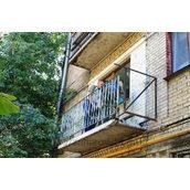 Підсилення опорних перил балкона