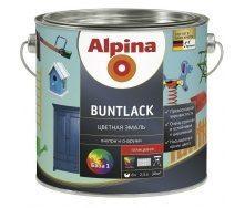 Эмаль Alpina Buntlack 10 л