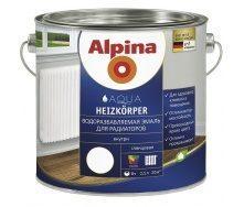 Емаль Alpina Aqua Heizkоrper 0,75 л