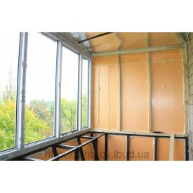 Утеплення балкона пінополістиролом Стиродур