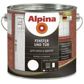 Емаль Alpina Fenster und Tur 0,75 л