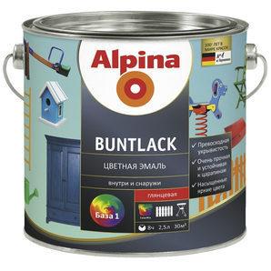 Емаль Alpina Buntlack 10 л