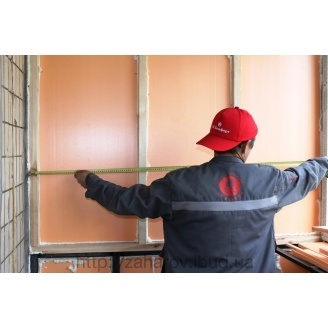 Утепление стен балкона изнутри экструдированным пенополистиролом