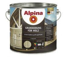Грунтовка для дерева Alpina Grundierung fur Holz 2,5 л