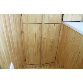 Шафа на лоджію дерев'яна