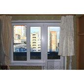 Монтаж пластикових укосів на балконний блок 1,550х1,400х2,150х280 мм