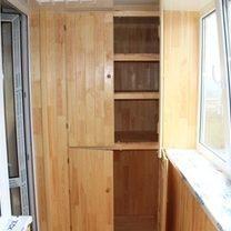 Как сделать шкаф на балконе или лоджии