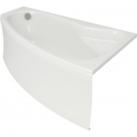 Ванна асиметрична з кріпленням права Cersanit SICILIA NEW 170х100 см (S301-098)