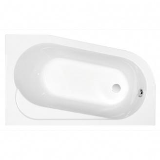 Ванна асиметрична з кріпленням права Cersanit ARIZA 160х90 см (S301-092)