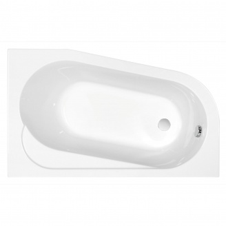 Ванна асиметрична з кріпленням права Cersanit ARIZA 150х90 см (S301-090)