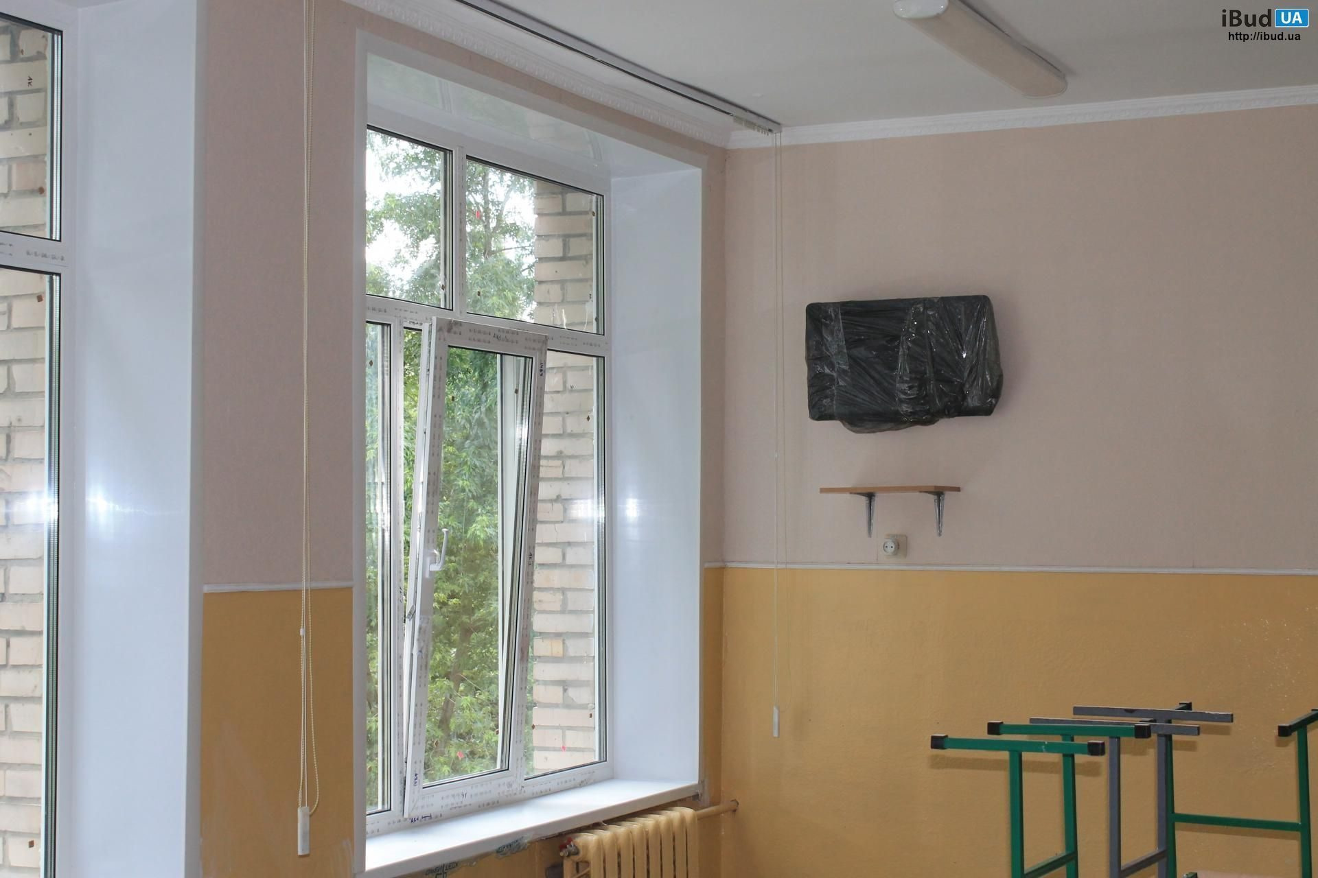 Укоси на вікна та балконний блок