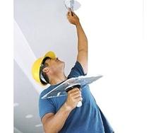Шпаклевка потолка вручную