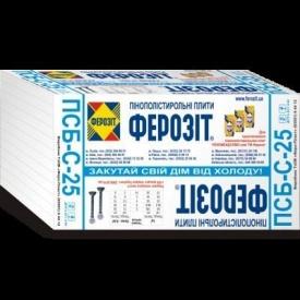 Пенопласт Ферозит ПСБ-C-25 2 см