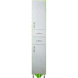 Пенал підлоговий Класик P-1 білий, 40см