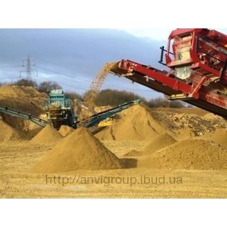 Песок овражный 30 т