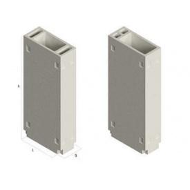 Железобетонный вентиляционный блок БВ 1-1-30