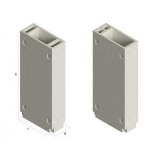 Залізобетонний вентиляційний блок БВ 1-1-30