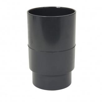 Муфта водостічної труби Nicoll темно-сірий