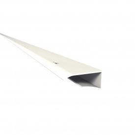 Фінішний профіль J-подібний Nicoll BELRIV 4 м білий