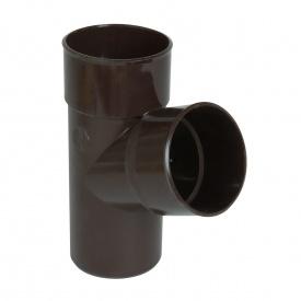 Трійник Nicoll 33 100 мм коричневий
