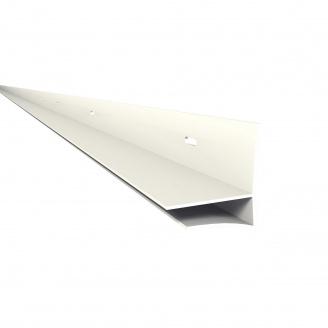 Фінішний профіль Nicoll BELRIV 4 м білий PFM4