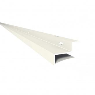 Фінішний профіль Z-подібний Nicoll BELRIV 4 м білий