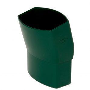 Отвод Nicoll 28 OVATION 15° 80 мм зеленый
