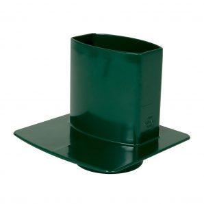 Каналізаційний перехідник Nicoll 28 OVATION зелений
