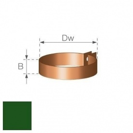 Хомут водосточной труби Gamrat 90 мм зеленый