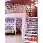 Оформление бетонных лестниц